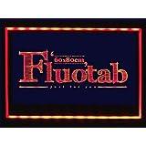 FluoTab® - GRAND FORMAT - Tableau lumineux à LED / Ardoise lumineuse fluorescent à LED/ Tableau réinscriptible à LED avec télécommande - Panneau publicitaire/Enseigne publicitaire: Dimension 80cmx60cm