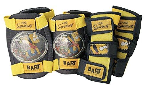 The Simpsons Set de Protection Coudes + Genoux + poignées