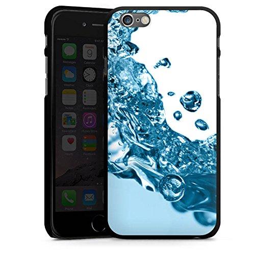Apple iPhone 5s Housse étui coque protection Eau Water Gouttes CasDur noir