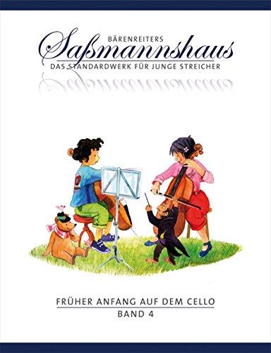 Früher Anfang auf dem Cello 4. Duospiel in allen Lagen: Die Celloschule für Kinder ab 4 Jahre. Liedbezogene Übungen z. T. aus Schulen des 19. und frühen 20. Jahrhunderts