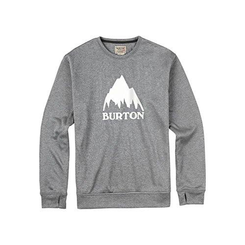 Burton Oak Crew Sweatshirt Monument Heather
