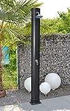 WelaSol  Solardusche 34 Liter Gartendusche 2,20 m mit Wellness Duschkopf