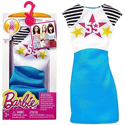 Barbie - Tendencia de la Moda para la Ropa de la Muñeca Barbie - Vestido de Tirantes No. 59