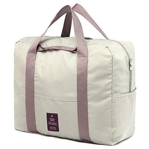 Duffle Bag Koffer (SPAHER Reise Duffle Bag Faltbare Packbare Holdall Wasserdichte Handtasche Schulter Sling Kleidung Verpackung Organizer Aufbewahrung Tragen Koffer Tasche Für Shopping Gym Gepäck Sport Camping 40L)