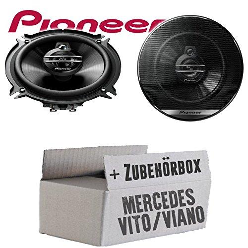 Mercedes Vito Viano W639 Front Heck - Lautsprecher Boxen Pioneer TS-G1330F - 13cm 3-Wege 130mm Triaxe 250W Auto Einbausatz - Einbauset