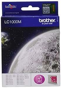Brother LC1000M Cartouche d'encre d'origine 1 x magenta 400 pages