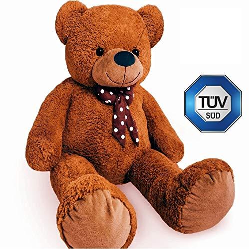 Europhant Teddy Bär XL 200 cm flauschig - Plüsch Kuscheltier Stofftier Plüschbär - Tüv geprüft