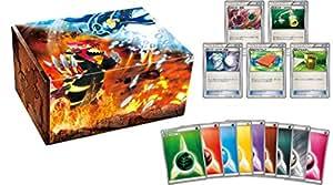 boîte de carte avec Gen Pokemon jeu de cartes carte de l'énergie de votre Groudon Gen votre Kyogre