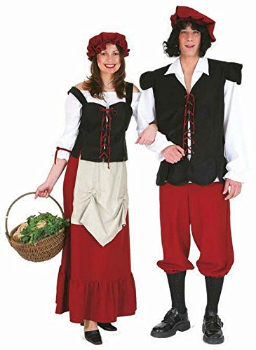 Disfraz SIRVIENTA granjera de campesino DISFRAZ SIRVIENTA vestido para disfraz de traje de campesina brewmaiden anfitriona