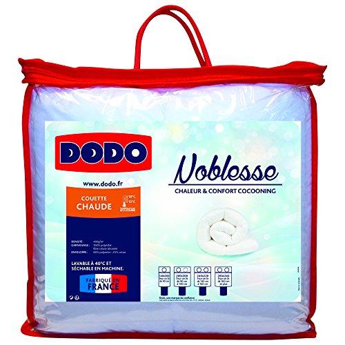 Dodo NOBLESSE Couette chaude Blanc 240 x 260 cm