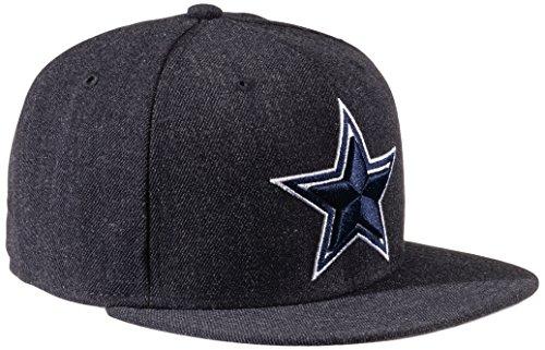 New Era Erwachsene Baseball Cap Mütze NFL Dallas Cowboys Streamliner 2 59Fifty Heather Navy, 7 1/8