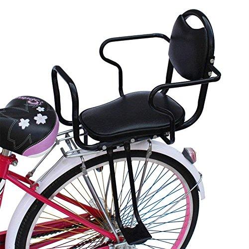 TJ Asiento De Bicicleta para Niños Bicicleta Trasera Asientos De Seguridad para Niños Silla De Montar Asientos De Bicicleta Eléctrica para Niños