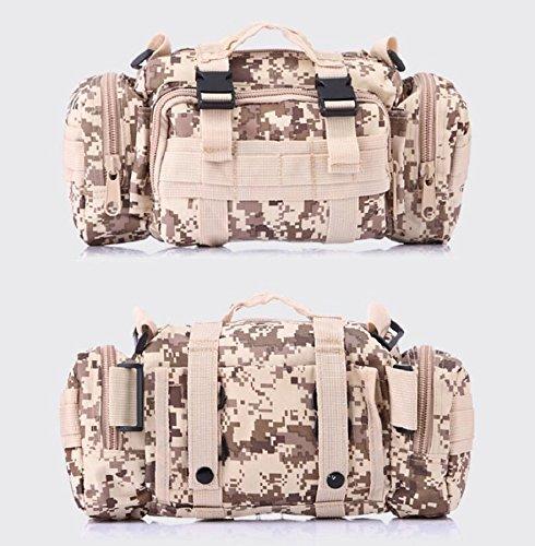 Z&N Backpack Camouflage multifunktionale militärische Fans Freizeitsportarten taktische Taschen Schulterkameras Rucksäcke Angriffspakete taktische Operationen Rucksacktaschen D