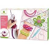Kit de loisir créatif enfant - Tricotin Mécanqiue - Création de bijoux en laine - DIY - Lovely Box Collector - Dès 7 ans - Sycomore - CRE5110