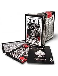 ToyCentre Cartas Bicycle Black Tiger Rojo y Blanco