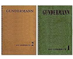 Gerhard Gundermann Songbuch-Set: 86 Songs des legendären Rockpoeten und Liedermachers : Band 1 + Band 2 [Noten/Sheetmusic]