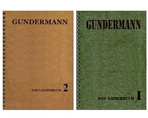 Gerhard Gundermann Songbuch-Set: 86 Songs des legendären Rockpoeten und Liedermachers : Band 1 + Band 2 [Noten/Sheetmusic]