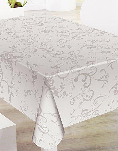 Mantel de Hule PVC estampado Ref. Roma Taupe
