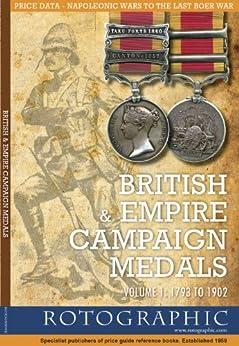 British & Empire Campaign Medals - Volume 1: 1793 to 1902 (British & Irish/Empire Campaign Medals) by [Perkins, Stephen Philip]