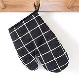 Guantes de Horno, Guantes de Cocina Resistentes al Calor, Manoplas Antideslizante para Ollas y Hornos de Cocina para Hornear y Asar (Un Par)