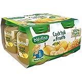 Blédina petits pots cocktail de fruits 4x130g dès 6 mois - ( Prix Unitaire ) - Envoi Rapide Et Soignée