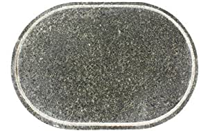 Andrew James Replacement Stone For The Andrew James Rustic Oval Stone Raclette Grill