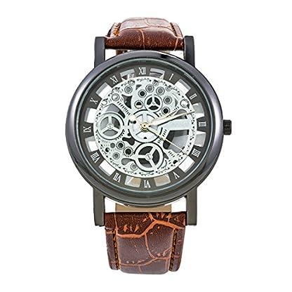 rainbabe-brownfaux-Armband-Hohl-Dial-Analog-Quarz-Leder-Armbanduhr-24-cm-fr-Herren