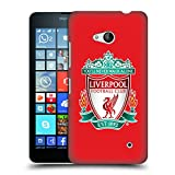 Official Liverpool Football Club Red 1 Crest 1 Hard Back