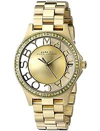 Marc Jacobs Damen-Armbanduhr XS Analog Quarz Edelstahl MBM3338