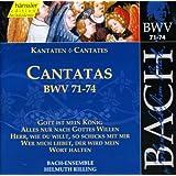 Bach, J.S.: Cantatas, Bwv 71-74