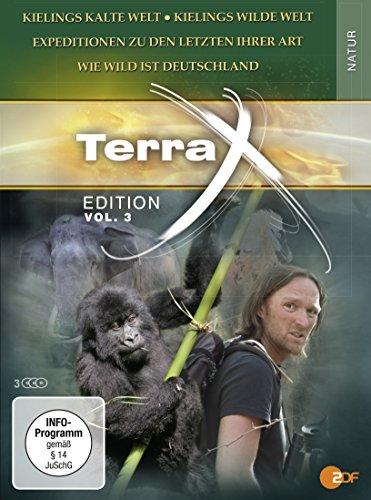 Terra X - Edition, Vol. 3: Kielings kalte Welt / Wilde Welt / Wildes Deutschland / Expeditionen zu den Letzten... (3 DVDs)