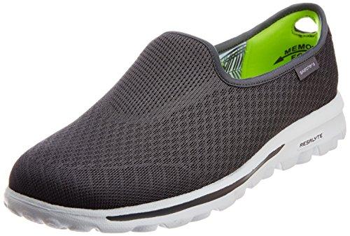 Skechers Gowalk Miscela slittamento leggero On Sneaker Grigio
