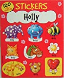 Personalised Stationery 120 Sticker Pad - Holly