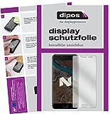 dipos I 2X Schutzfolie klar passend für Ulefone T1 Premium Folie Bildschirmschutzfolie