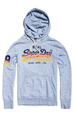 Sport Homme Capuche Shirt Logo Superdry Sweat Lite Vintage Cali Bleu Horizon À 8Cv8wxzqRn