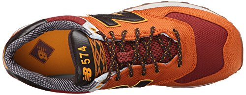 New Balance Nbml574exb, Scarpe da Atletica Uomo Arancione (Orange/Red)