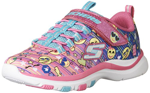 Skechers Trainer Lite-Happy Dancer, Baskets Enfiler Fille, Multicolore  (Multicolour), 37 EU