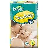 Pampers Couches Taille 2nouveau bébé Mini Lot de 62de l'économie