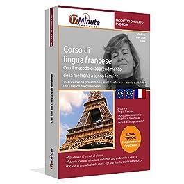 Imparare il francese (A1-C2): Pacchetto completo della lingua francese. Software per Windows e Linux. Corso base + corso…