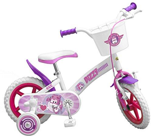 Toimsa–bicicletta per bambino sotto licenza super wings ragazza 12pollice di 3a 5anni, 1259u en71