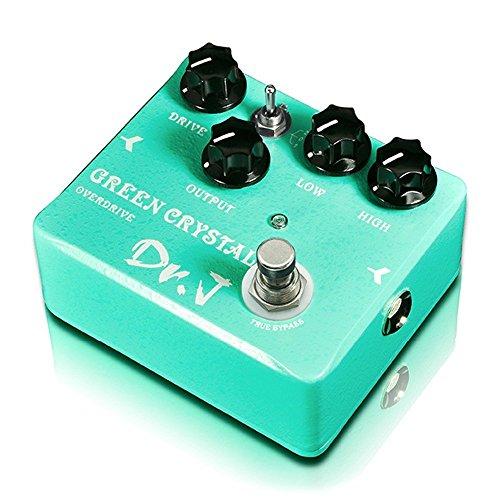 Dr.J D50 Cristal Verde Overdrive Pedal De Efectos De Guitarra