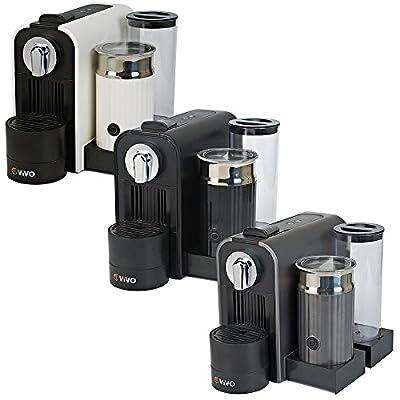 ViVo © Coffee Machine & Milk Frother for Nespresso Capsules Pod Heats Up Milk by Vivo