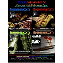 The Session Classroom Music Performance Pack: School solo or full Band Performance. Exam practical Performance. Improvisation exercises. Metronome Section Unison Training (The Session Series)