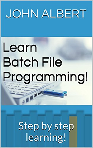 Learn Batch File Programming!: Step by step learning! (English ...