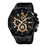 Best Casio Edifice Watches - Casio Edifice Stopwatch Men's Chronograph EFR-539BK-1AVUDF (EX187) Review