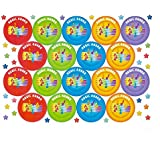70 Musical Note Praise Stickers Teacher Parents Children