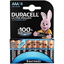 Duracell Ultra Power Piles Alcalines type AAA, Lot de 8