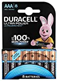 Duracell Ultra Power Typ AAA Alkaline Batterien, 8er Pack