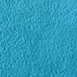STOFFKONTOR Fleece Stoff Meterware antipilling Azur-Blau