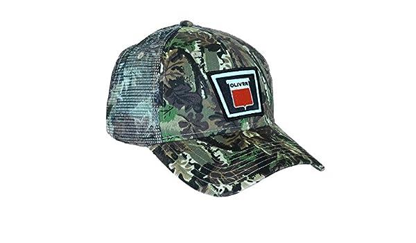 eaf70652 Oliver Tractor Camouflage Mesh Hat, Keystone Logo: Amazon.co.uk: Clothing
